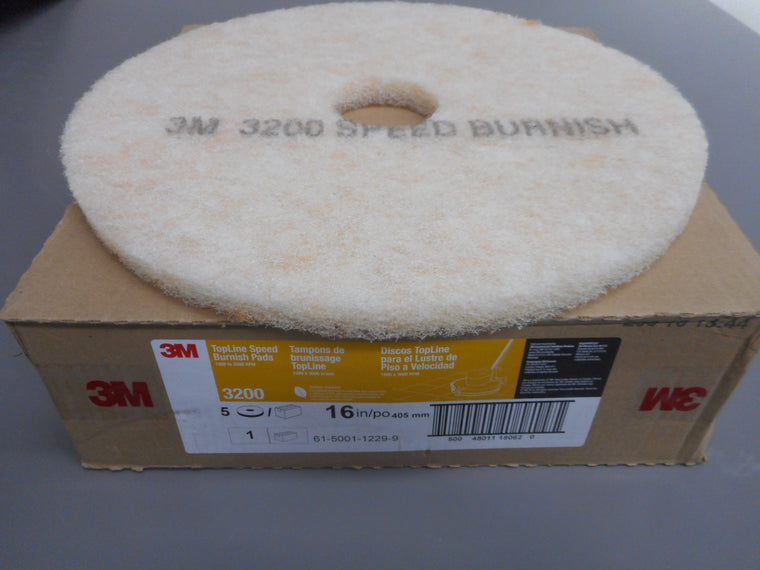 3m 3200 light cleaning buffing for floor scrubber ss5 32""