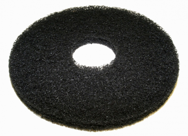 "Black 20"" Pads Case of 5 for Floor Scrubber"