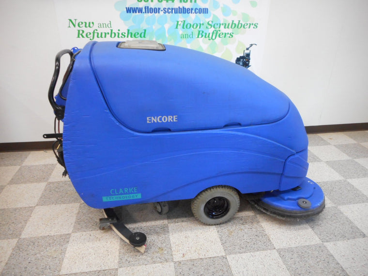 Clarke Encore s33 refurbished used floor scrubber