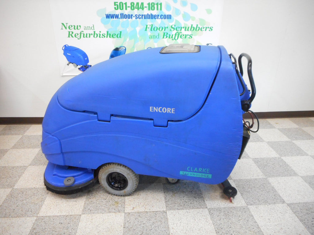 Clarke Encore S33 reconditioned used floor scrubber