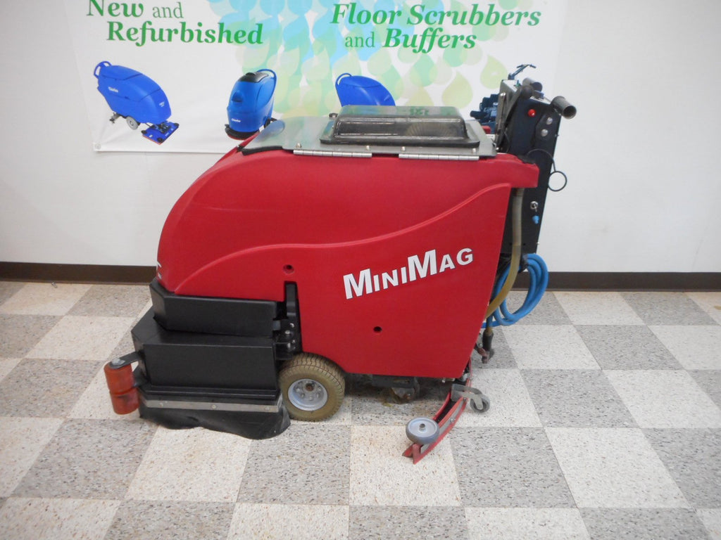 Factory Cat MiniMag 26D used floor scrubber