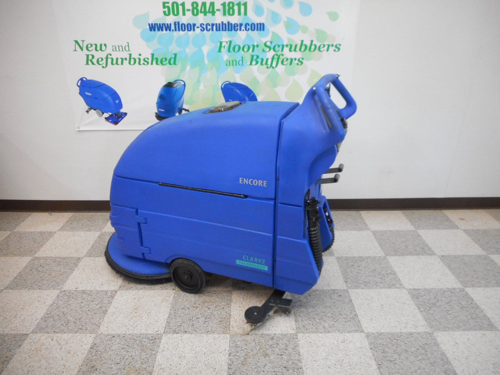 "Encore L20 20"" reconditioned used floor scrubber clarke"
