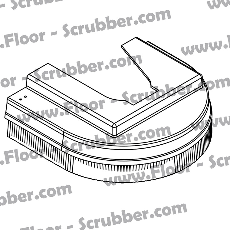Clarke 30661A  Brush Housing L.H.
