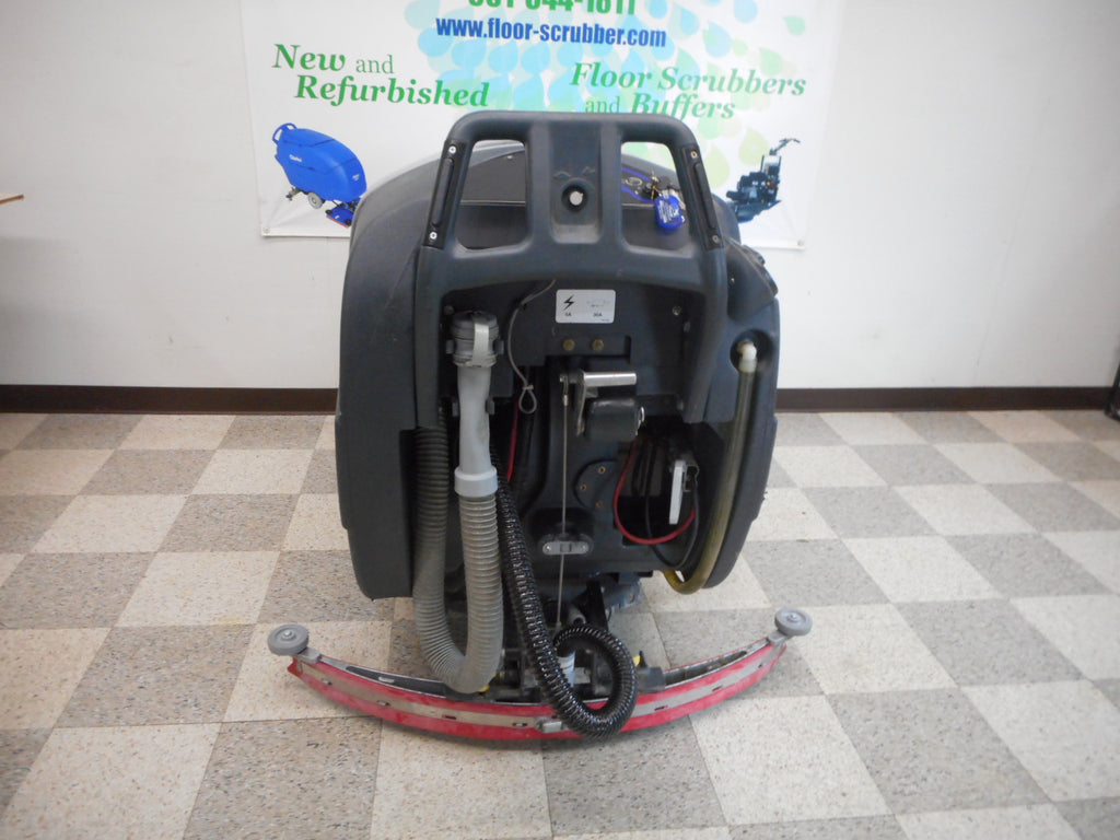 rear view of an advance 34 rst floor cleaner machine scrubber for warehouse