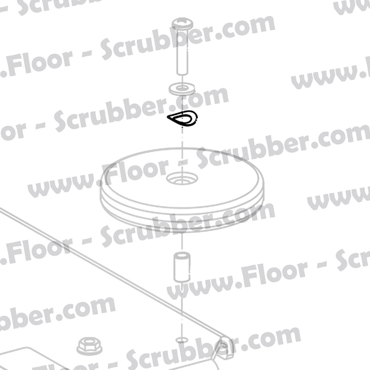 80317A WASHER, BOWED .455 ID X .740 O.D.
