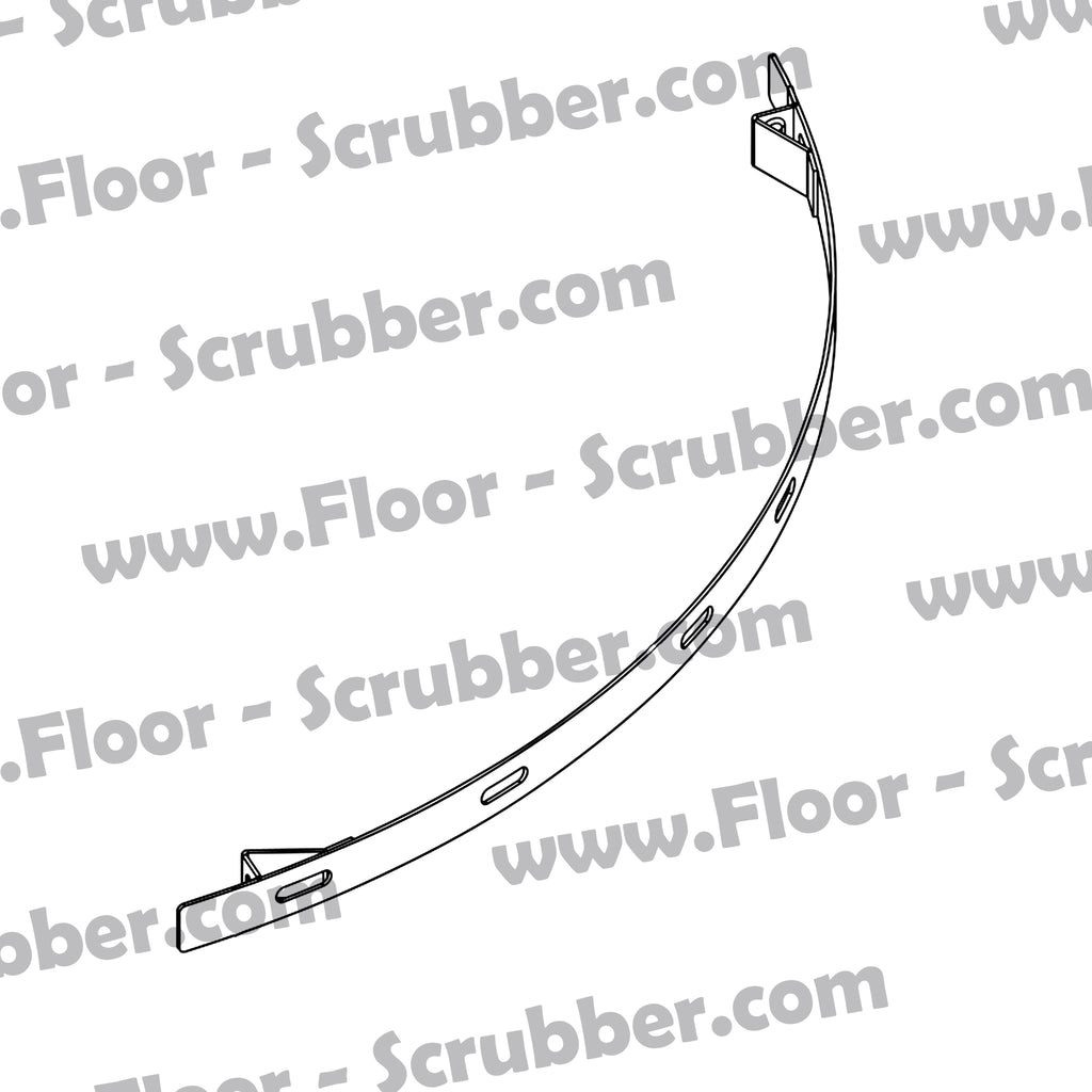 909 6055 000 STRAP SQUEEGEE FRONT