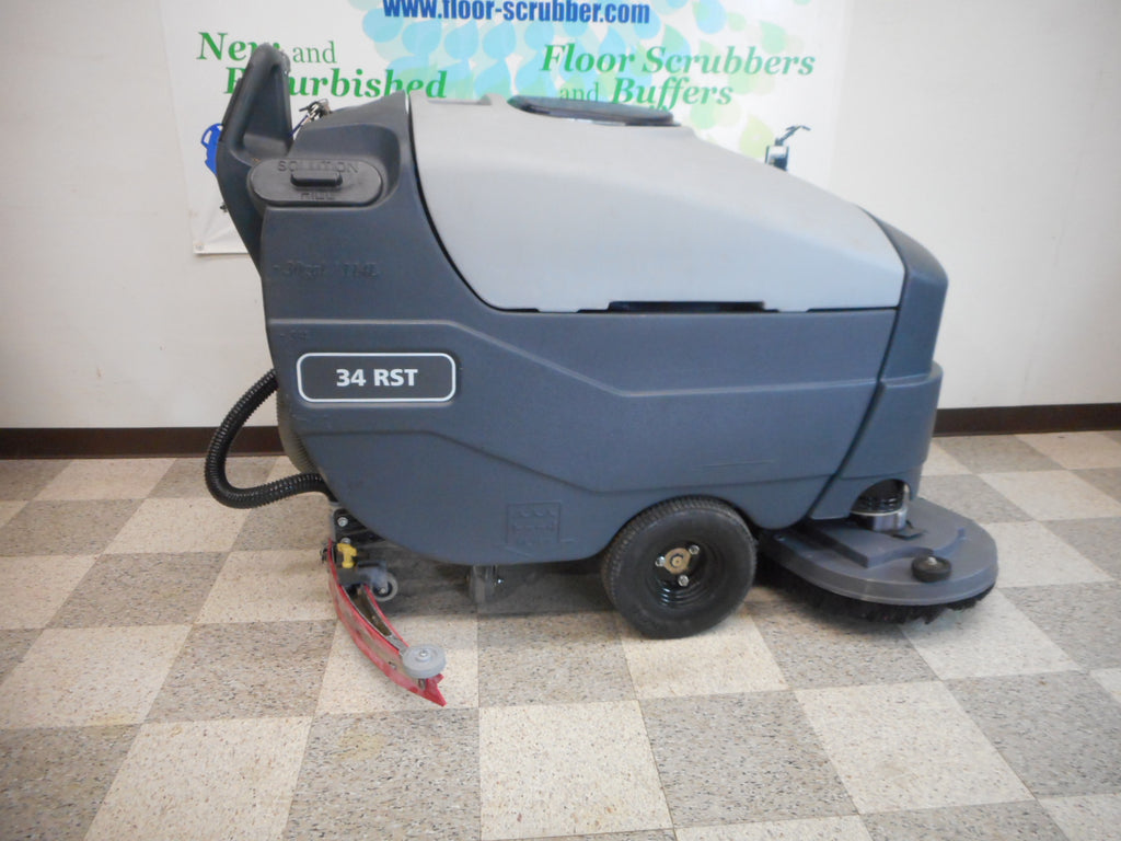 industrial floor cleaner machine advance 34 rst