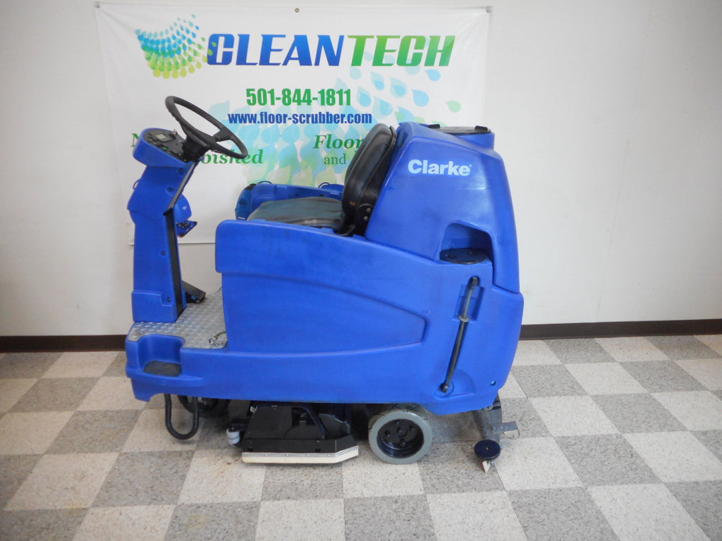 Reconditioned Clarke Rider Floor Scrubber