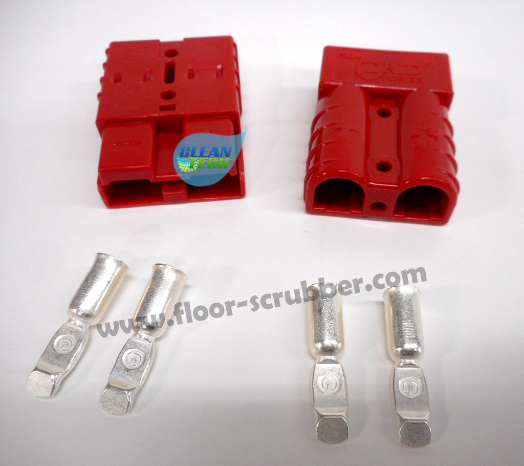 SB50 Charger connector Red with 6GA contacts