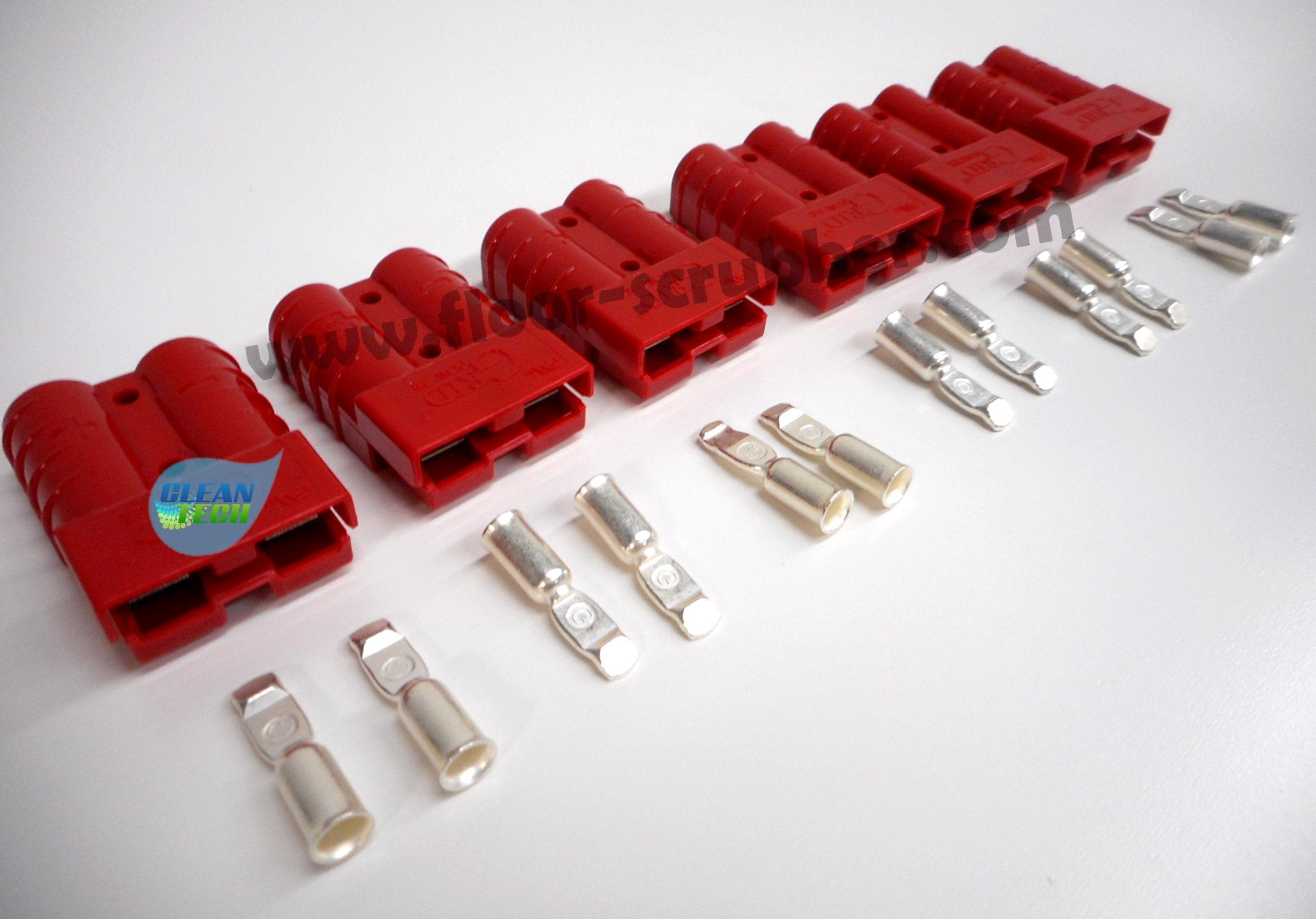 with 6Ga contacts 56324305 SB50 Clarke Red Charger Plug Connector 50amp