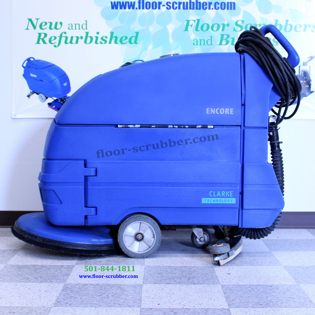 Clarke S20E Floor Cleaner Scrubber
