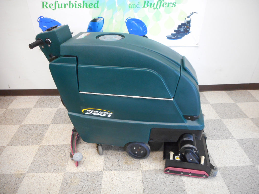 nobles 2601 used floor scrubber