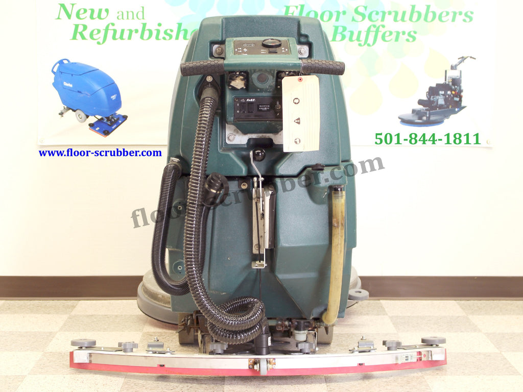 Used Refurbished nobles ss5 rear view.  New or rebuilt squeegee assembly new vac and drain hoses.  Adjustable height operator panel.