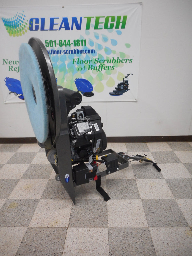 Pioneer Rok-Bak Easy Pad Change pe400bu Propane burnisher