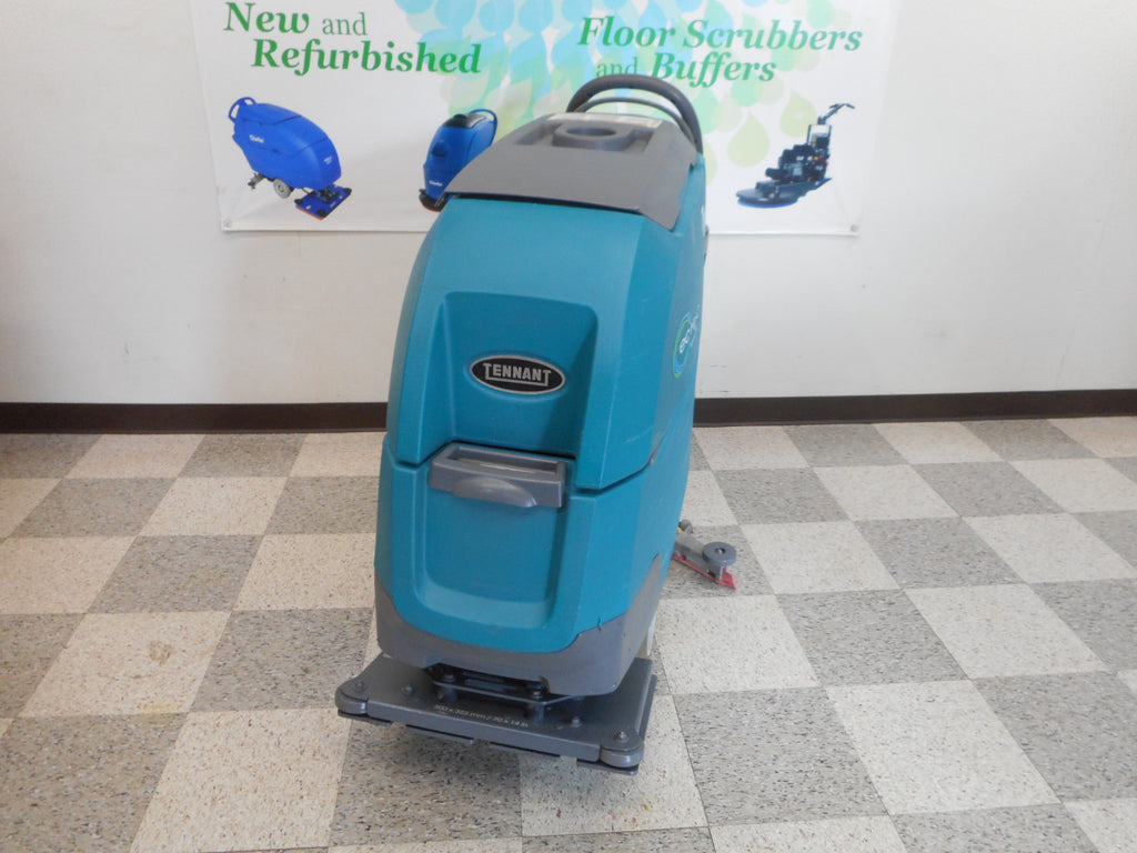 Used Tennant Floor Scrubber T300e