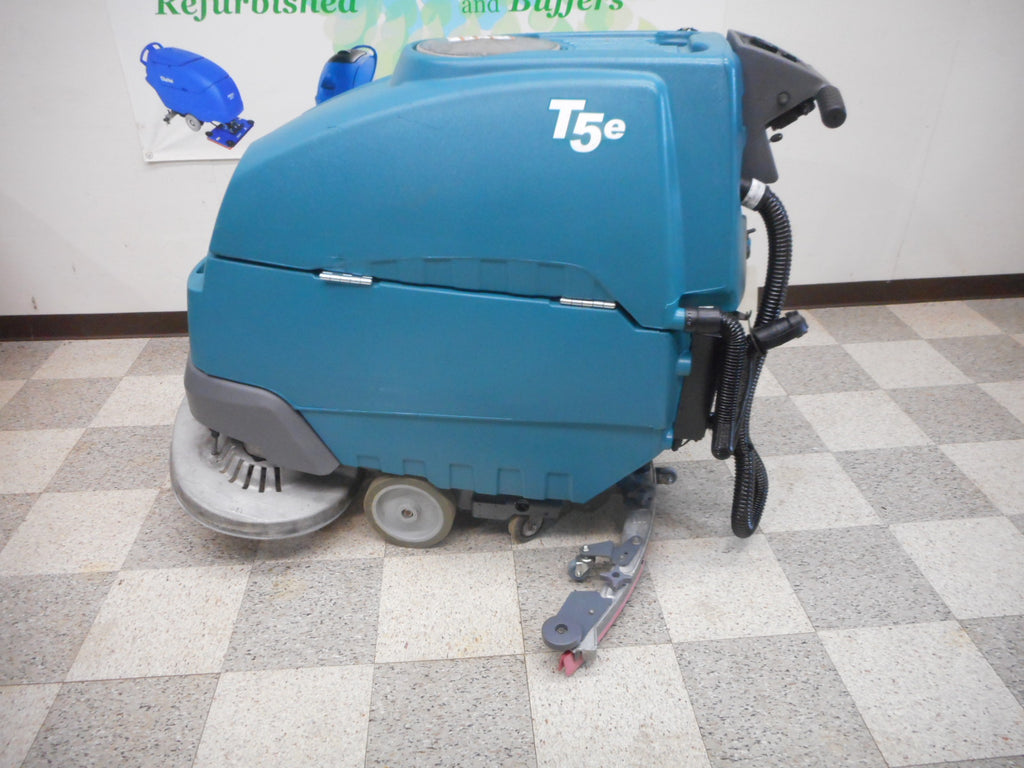 Used Tennant T5e Floor Scrubber 32""
