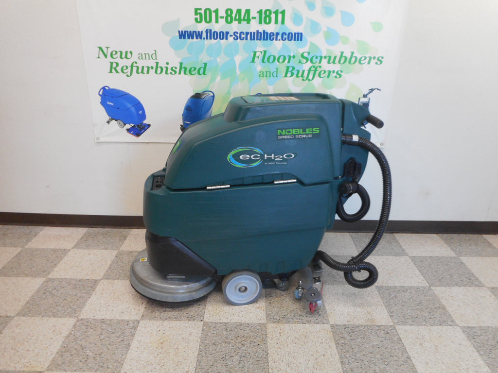 used nobles floor scrubber 17-20