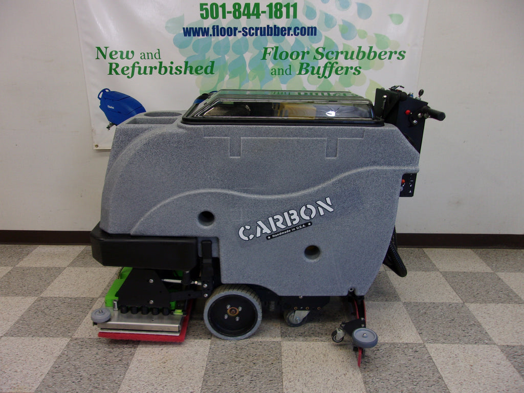Tomcat Carbon E-24 EDGE Orbital Floor Scrubber reconditioned