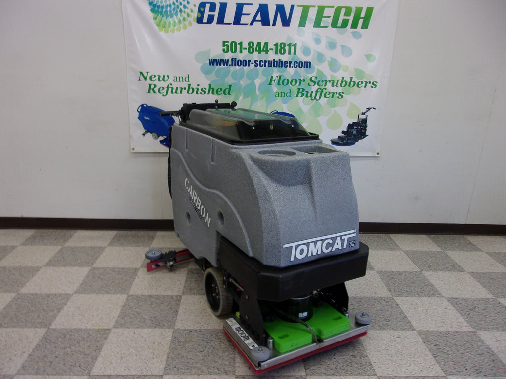 used demo Tomcat Carbon E-24 EDGE Orbital Floor Scrubber