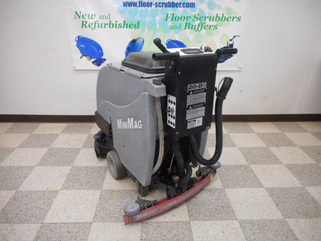 Reconditioned used Tomcat MiniMag Floor Scrubber Dryer