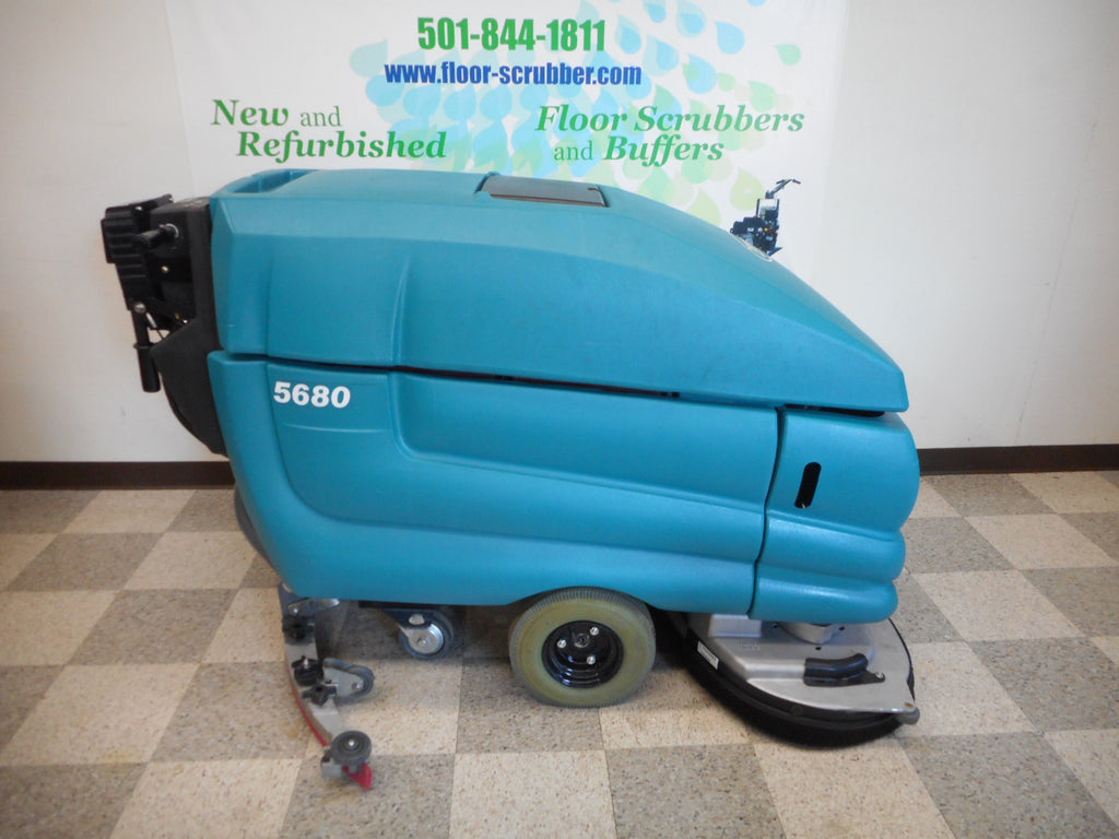 Tennant-5680-Floor-Scrubber Used low hour