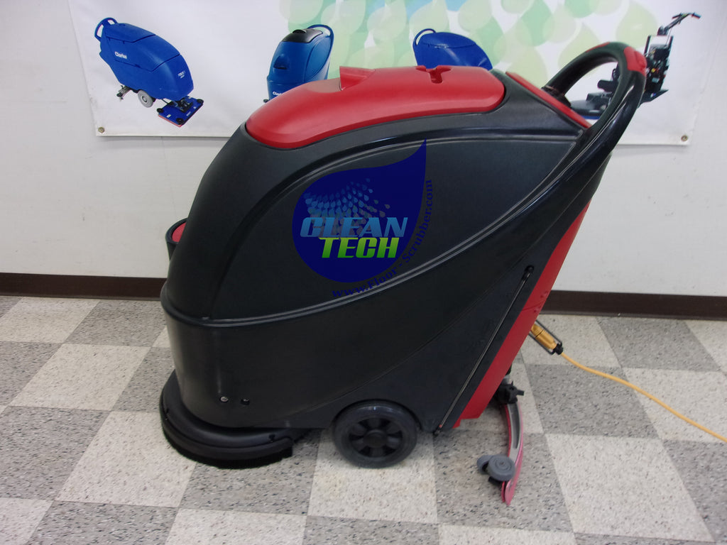 Viper small compact automatic corded floor scrubber