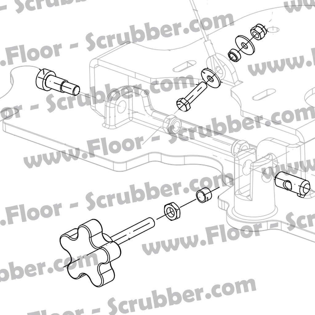 9096885000 SQUEEGEE SUPPORT HARDWARE KIT