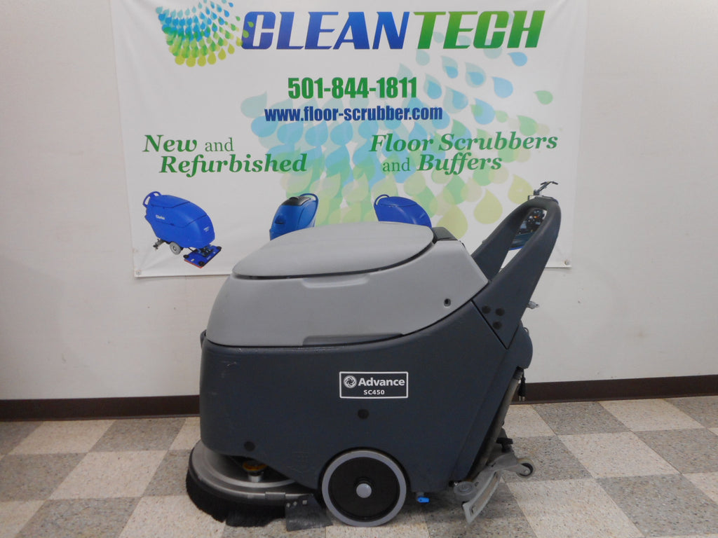"advance floor scrubber 20"" sc450"