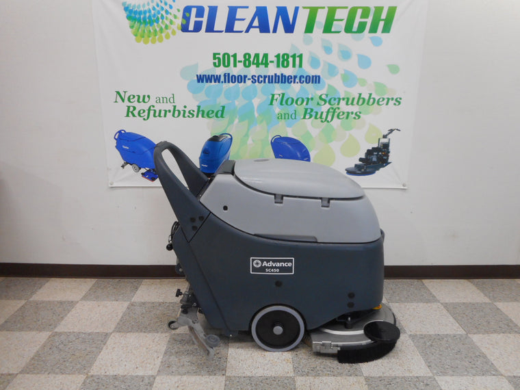 advance sc450 floor scrubber cleaner machine
