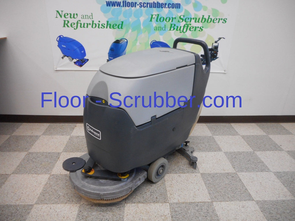"Used 20"" advance floor scrubber"