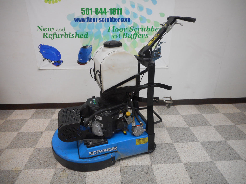 used aztec sidewinder propane floor stripper