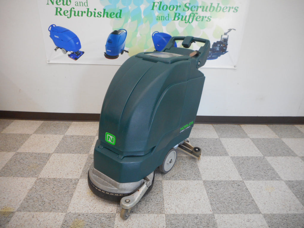 reconditioned 1701 plus nobles floor scrubber cleaner machine
