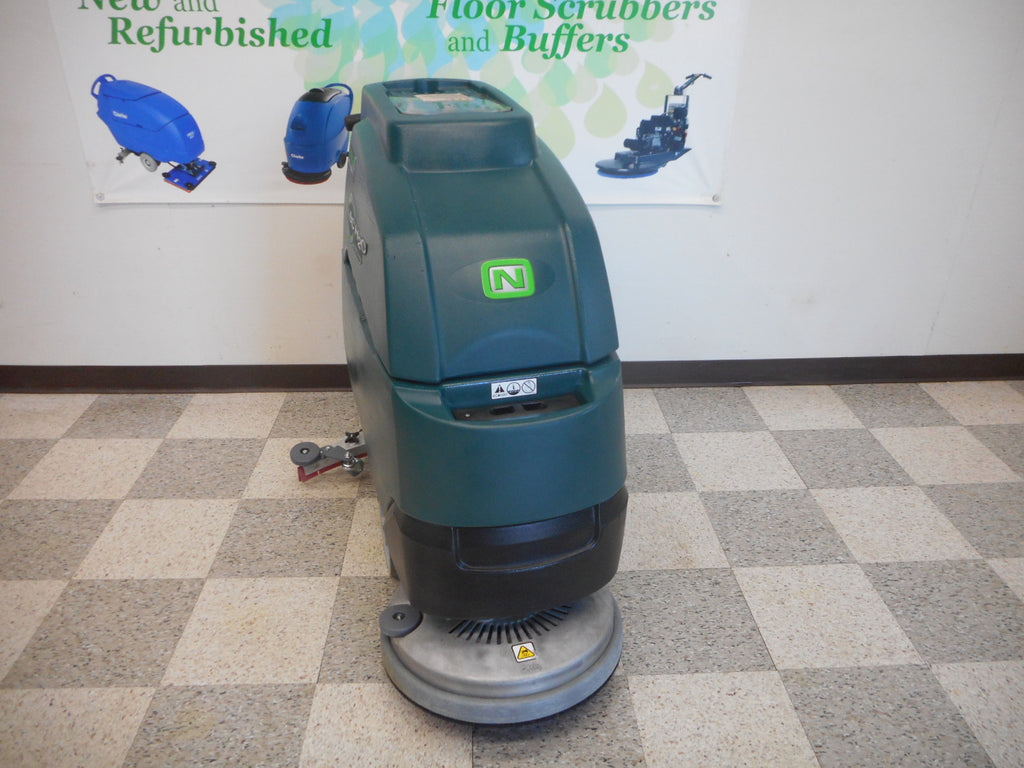 tennant nobles floor scrubber 20""