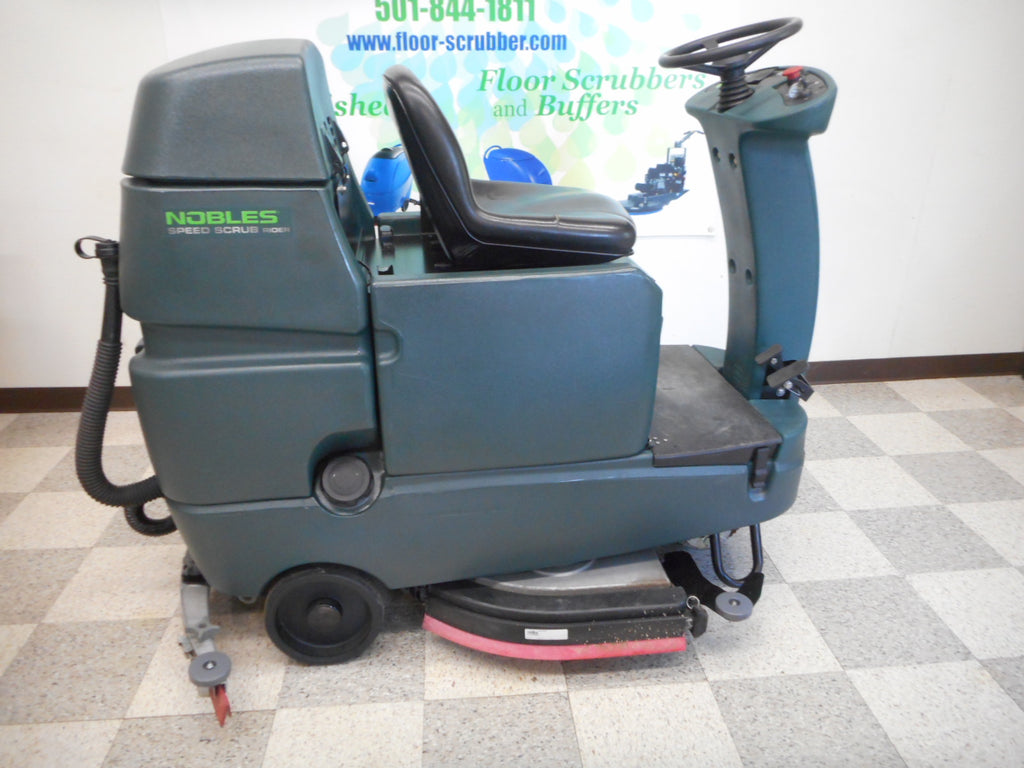 Tennant Nobles Floor Scrubbers reconditioned used Ride on SSR