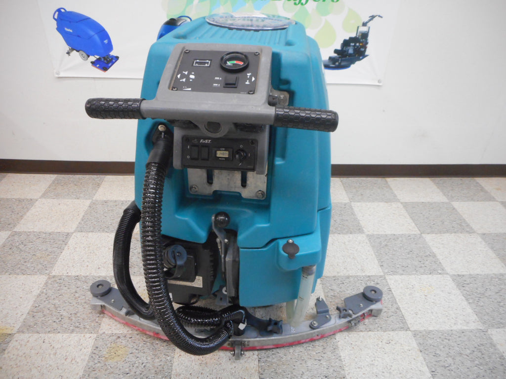 "Reconditioned  Tennant T5e 32"" Walk Behind Disc Floor Scrubber"