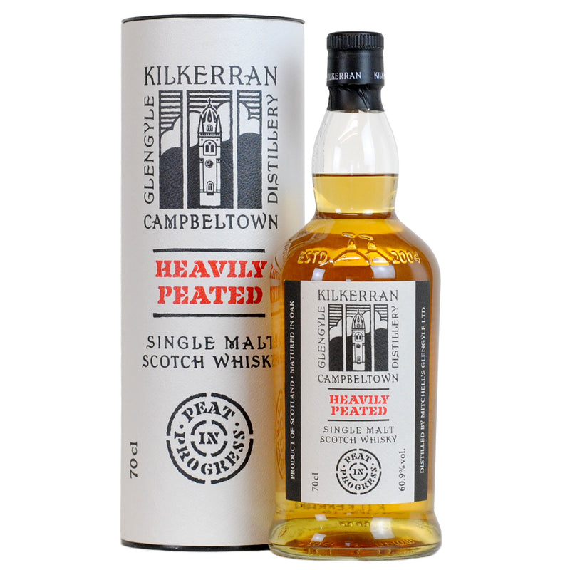 Kilkerran Heavily Peated Batch 1 59.3% 50ml