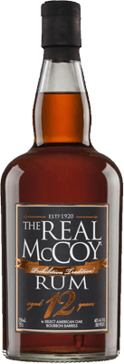 The Real McCoy 12 Year Old Blended Rum 50ml