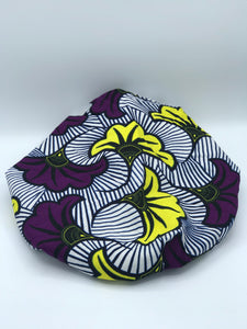 Purple Flower Bonnet