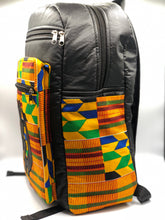Load image into Gallery viewer, Kente 'Gye Nyame' Back Pack