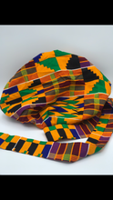 Load image into Gallery viewer, Kente Tie Bonnet