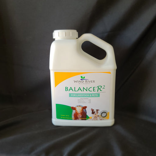 BalanceR2 - Antifungal & Livestock Probiotic - Wind River Microbes - Organic Microbes and Fertilizers for Plants, Trees, and Animals. Made in the USA.