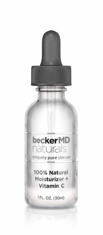 Hilton Becker MD 100% Natural Moisturizer With Vitamin C (1 FL. OZ)