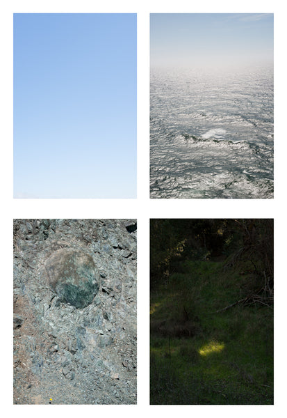 Doug Dertinger, Set of prints: The Four Elements: Air, Water, Earth and Fire