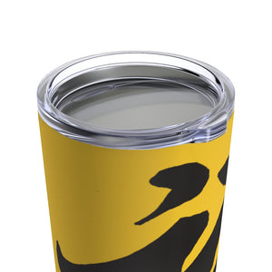 Yellow Tumbler 20oz w/ Black FU