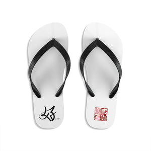 It's All Good on Unisex Flip-Flops and Logo