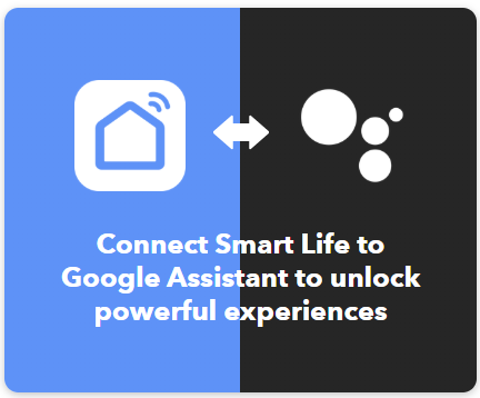 Connect your Google Assistant to IFTTT and Smart Life