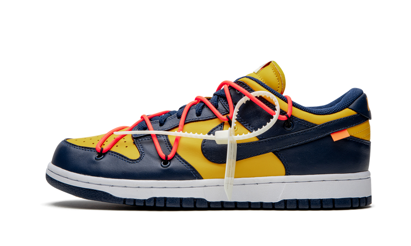 "Nike Dunk Low Off-White ""Midnight Navy"""