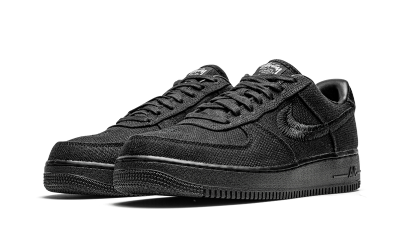 "Nike x Stussy Air Force 1 ""Triple Black"""