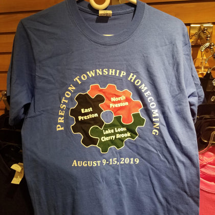 Preston Township Homecoming 2019 - T-Shirt - CLEARANCE
