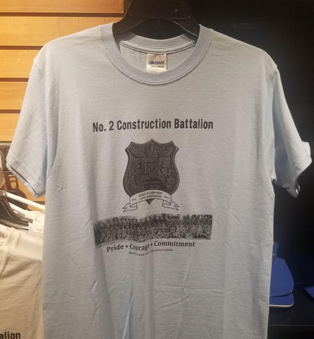 No. 2 Construction Battalion - T-Shirt (2016) - CLEARANCE